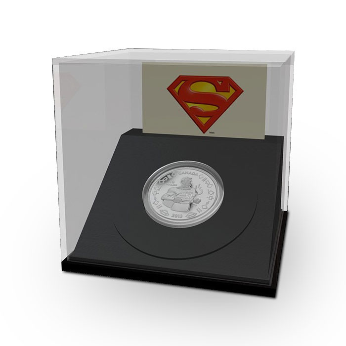 2013 Vintage Superman 1/4 ounce Silver Canadian Coin