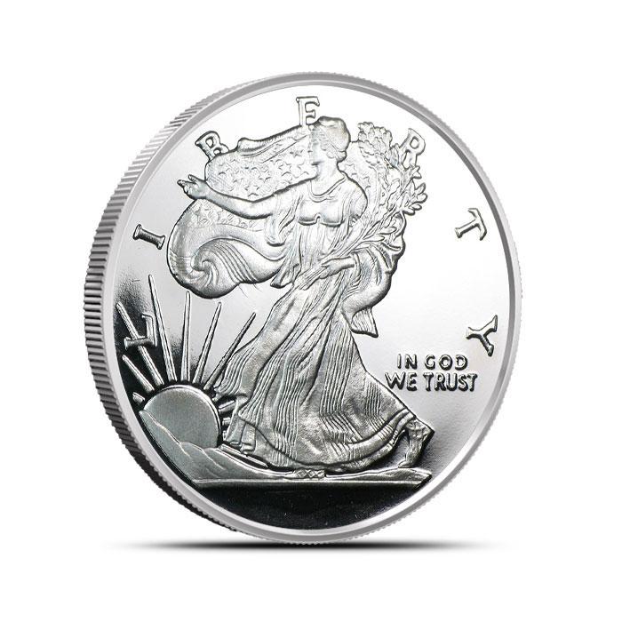 Walking Liberty 1/2 oz Silver Round