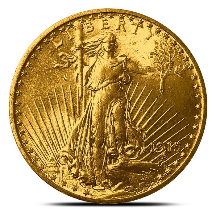 $20 Saint- Gaudens Gold Double Eagle | WW1 Dates
