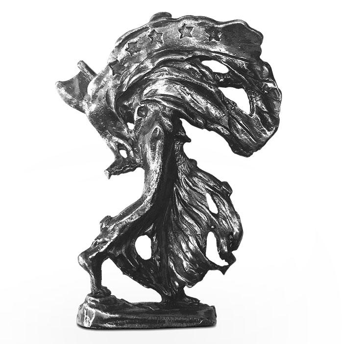 Walker 3 oz Silver Statue