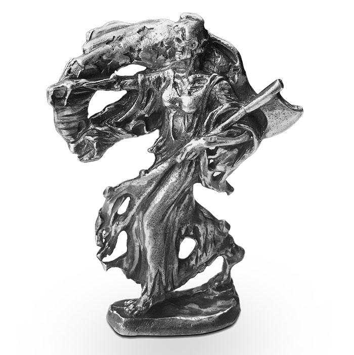 Walker Silver Statue