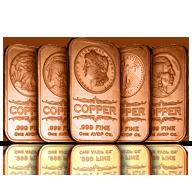 1 oz Copper Bars