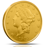 $20 Gold Double Eagles