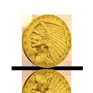 $2.50 Gold Quarter Eagles