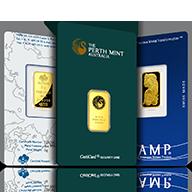 5 gram Gold Bars