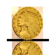 $5 Gold Half Eagles