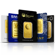 Gold Bars By Mint