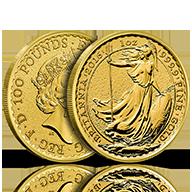 Gold Britannias