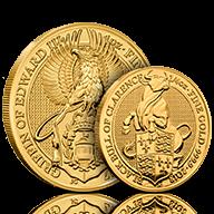 Gold Queen's Beasts