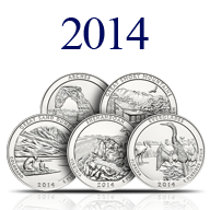 2014 America the Beautiful Silver Coins