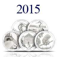 2015 America the Beautiful Silver Coins