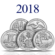 2018 America the Beautiful Silver Coins