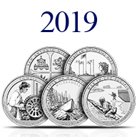 2019 America the Beautiful Silver Coins
