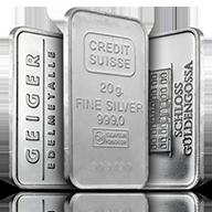 20 gram Silver Bars