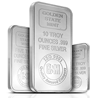 Golden State Silver Bars
