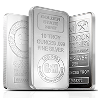 Silver Bars by Brand