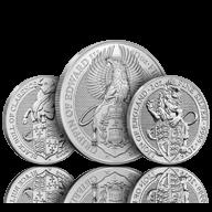 Queen's Beast Silver