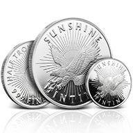 Sunshine Mint Silver Rounds