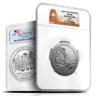 Certified America the Beautiful Silver Coins