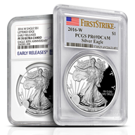 Certified Proof Silver Eagles