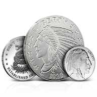 Silver Rounds by Weight