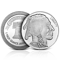 SilverTowne Silver Rounds