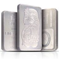 100 gram Silver Bars