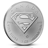 Superman Silver Coins